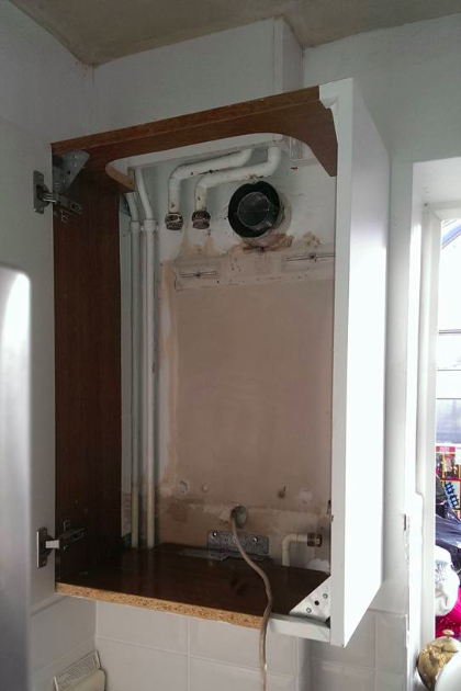 New boiler in Stevenage