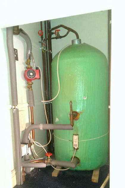 Hot water tank in Stevenage