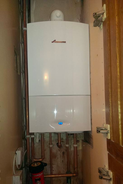 Worcester boiler install in Stevenage